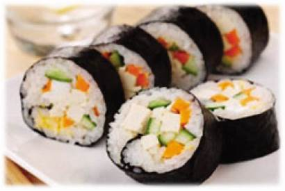 Sushi Vegetarian Tofu Roll
