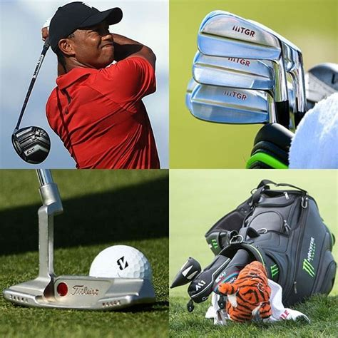 Tiger Woods What's in the bag? Link in bio to check out ...