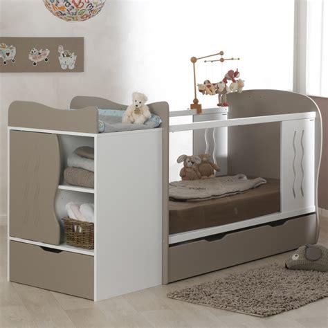 chambre evolutif lit bebe evolutif avec tiroir blanc 70x140 marilinm01e