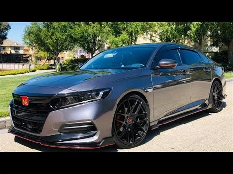 honda accord  gen  months  modified