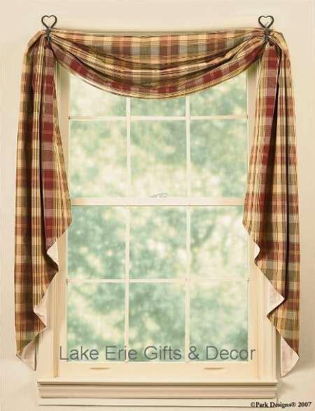 valance swag curtains drapes