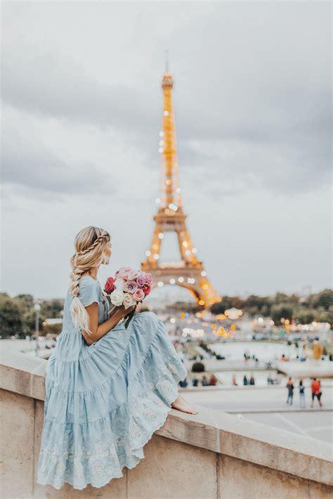 Magic Amber Fillerup In Paris Wearing Bfb Hair Extensions