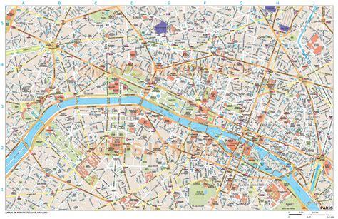 royalty  paris illustrator vector format city map