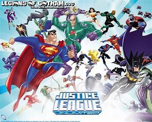 Batman Justice League Unlimited Wallpaper | www.imgkid.com ...