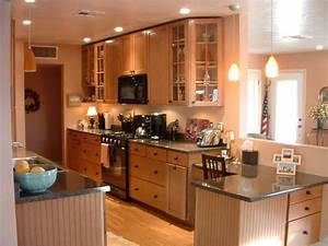 Remodel Galley Kitchen Idea Modern Home Design Decor Galley Kitchen Design In Modern Living