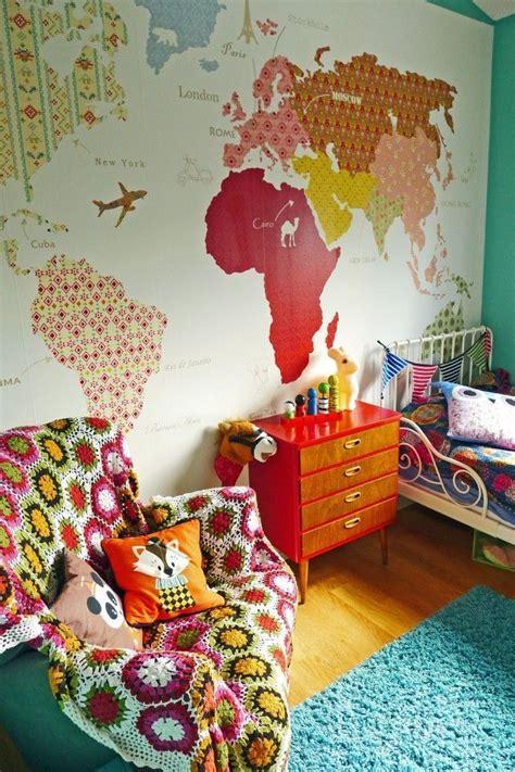 d o vintage chambre les 25 meilleures idées concernant mappemonde sur