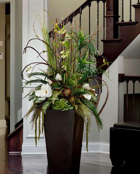 Large Floral Vases by Magnolia Centerpiecesilk Flower Arrangement In 2019
