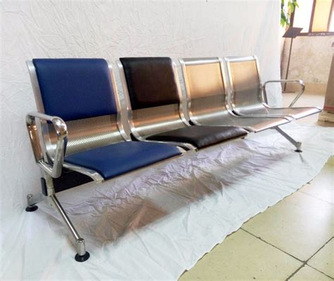 cheap waiting room chairs stainless steel waiting chairs