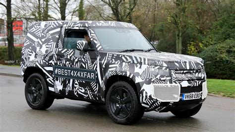Land Rover Photo by Land Rover Sort Of Reveals All New 2020 Defender