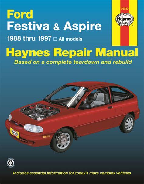 car repair manuals online pdf 1993 ford festiva parental controls ford festiva 88 93 ford aspire 94 97 haynes repair manual haynes manuals