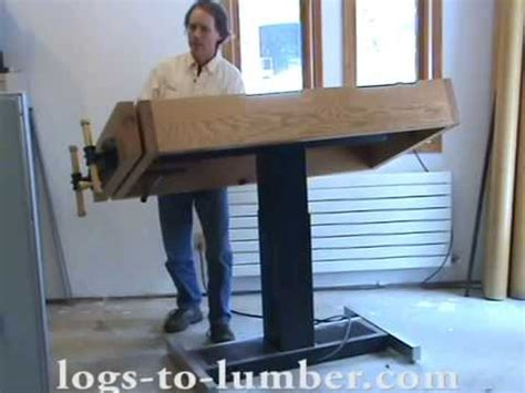 adjustable height workbench youtube