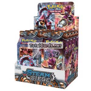 xy steam siege hoopa volcanion theme deck set totalcards net