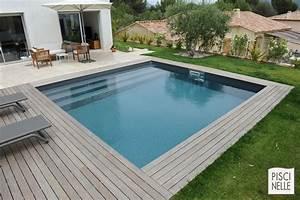 terrasse bois avec piscine gallery of deck piscine with With amazing amenagement exterieur jardin moderne 7 reportage photo piscine carre aubagne