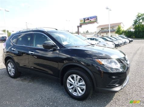 black nissan rogue 2016 magnetic black nissan rogue sv awd 113860070 photo