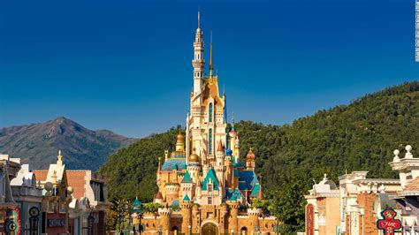 hong kong disneylands  castle  magical dreams   architectural vision  diversity