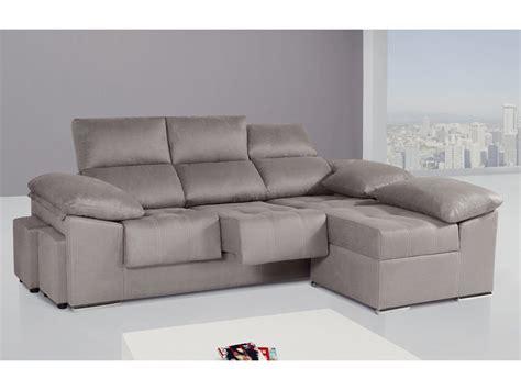 sofa 3 plazas chaise longue medidas sof 225 de 3 plazas con m 243 dulo chaise longue partido y puff