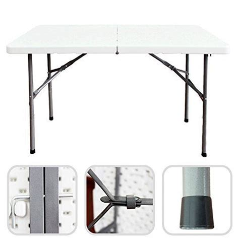 table traiteur pliante 124 cm table buffet cing pliable avec poign 233 e price 51 99la table