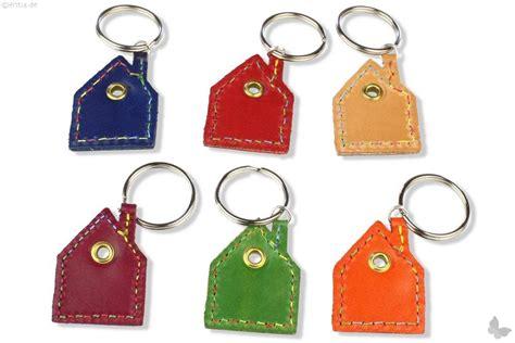 Schlüsselanhänger Leder Haus  Nachhaltiges Aus Sozialen