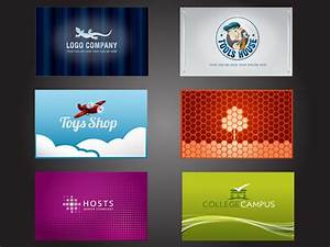 12 symbol free vector business card images free contact for Free logos for business cards