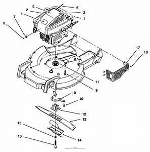 Toro 20472  Super Recycler Lawnmower  1996  Sn 6900001