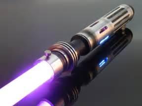Custom Purple Lightsaber Jedi