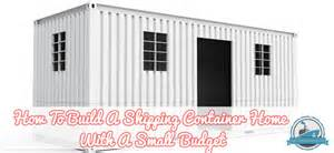 cabin blueprints floor plans how to build a shipping container home with a small budget