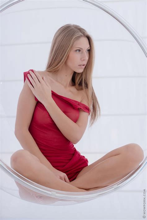 Krystal Boyd In A Red Dress