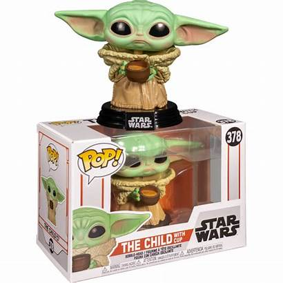 Funko Mandalorian Pop Child Yoda Wars Cup