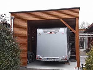 Abri Camping Car Bois : maison ossature bois abris jardin piscine voiture voiron ~ Dailycaller-alerts.com Idées de Décoration