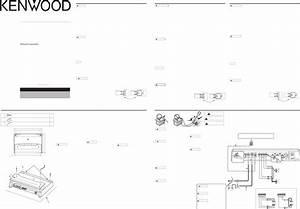 Kenwood Car Amplifier Kac