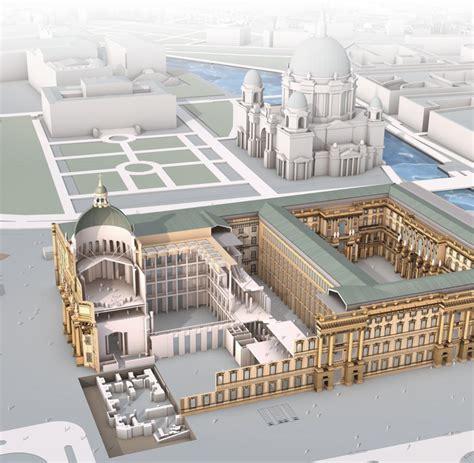 Berlins Zentrum Die Pläne Für Das Berliner Schloss
