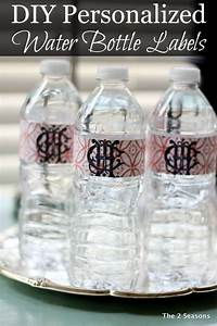 the 2 seasons the mother daughter lifestyle blog With how to personalize water bottles diy
