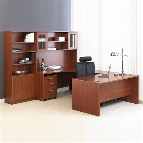 unique home office desks unique furniture 100combo13 100 series executive u shape