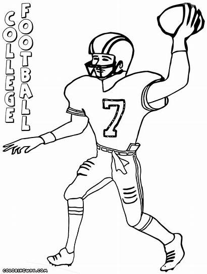 Football Coloring College