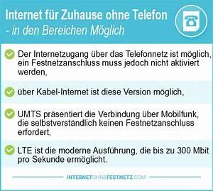 Internet Zuhause Angebote : internet f r zuhause ohne telefon 2019 die g nstigen angebote im test ~ A.2002-acura-tl-radio.info Haus und Dekorationen
