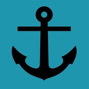Anchor Blue Background Clip Art at Clker.com - vector clip ...