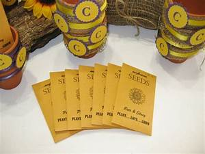 flower seeds seed packets wildlfower seeds sunflower With sunflower seed packets wedding favors