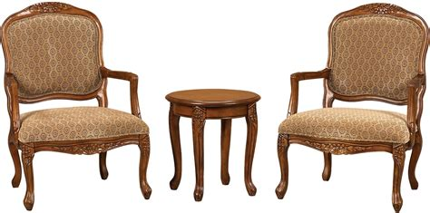 3 Piece Tasha Accent Chairs & Side Table Set  The Brick