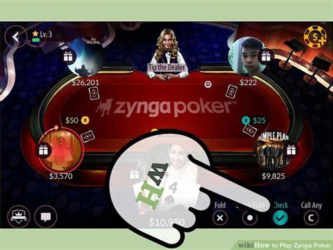 poker play zynga step wikihow table chips ways