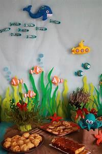 Décoration D Anniversaire : d coration feutrine poissons pieuvre sous marin ~ Dode.kayakingforconservation.com Idées de Décoration