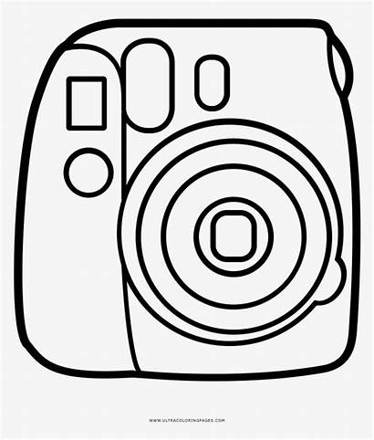 Camera Coloring Pages Instax Mini Whitesbelfast Save