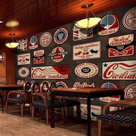 European Style Bar by Wall Paper Retro Style Tag Wallpaper Living Room
