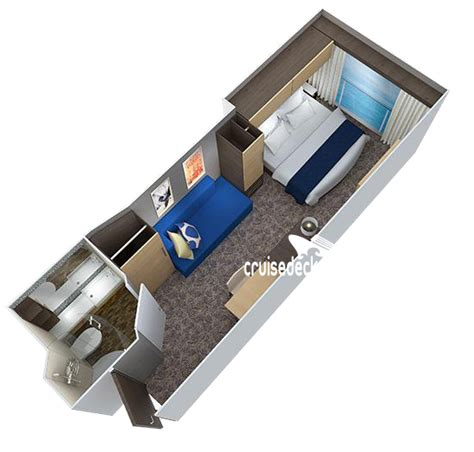 Of The Seas Cabin Layout Ovation Of The Seas Interior Stateroom