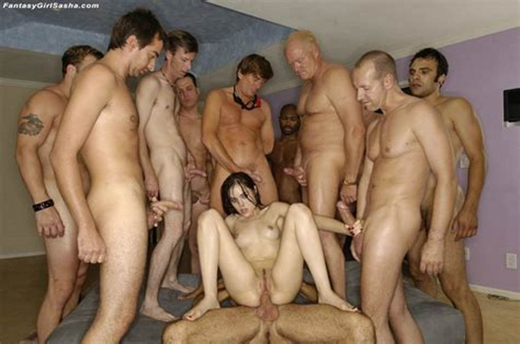 #Gang #Bang #Hardcore #De #Sasha #Grey #Con #12 #Pollas #008