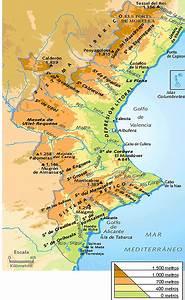 Relieve De La Comunidad Valenciana