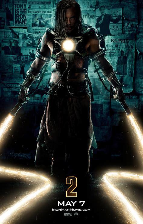 whiplash iron man   poster filmbook