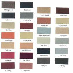 Paint Shade Card - Manufacturers, Suppliers & Wholesalers