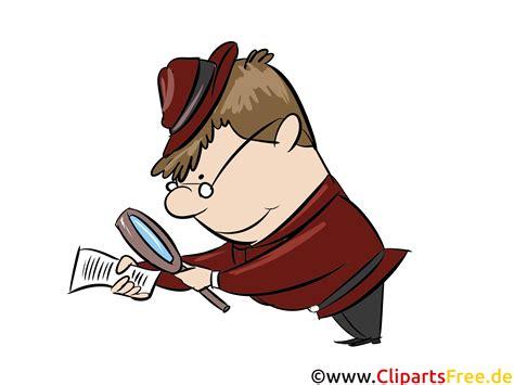 illustration untersuchen detektiv polizei