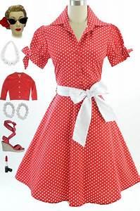 Robe Année 80 : robe am ricaine ann e 50 ~ Dallasstarsshop.com Idées de Décoration