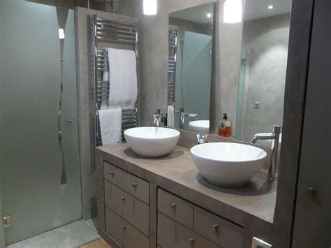 beton cellulaire salle de bain salle de bain b 233 ton cir 233 contemporain salle de bain other metro par cgdesign